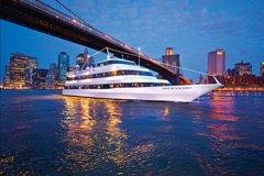 New York Christmas Eve Dinner Buffet Cruise