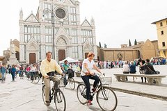 Private Florence bike tour with street Food Tour option