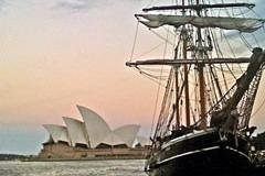 Sydney Harbour Tall Ship Valentines Dinner Cruise