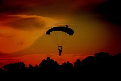Full Moon Skydive Over Sunshine Coast: Night Jump