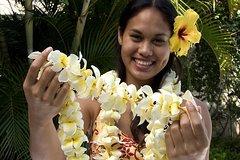 Honeymoon Airport Lei Greeting on Kahului Maui Private Car Transfers