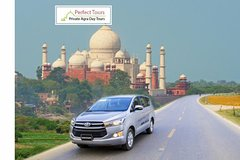 Private AC Car Transfer- Delhi Airport to Agra Hotel