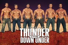 Thunder from Down Under at the Excalibur Hotel and Casino