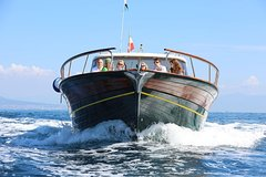 Small Group Sorrento Coast and Amalfi Coast boat tour with Local Host on bo