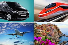 Private Transfer: From Positano (hotel) to Rome (hotel-airport-railway station)
