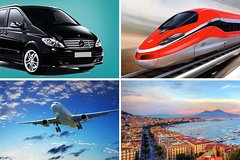 Private Transfer: From Sorrento (hotel) to Naples (hotel-airport-train station)