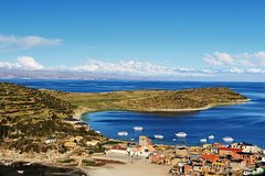 Imagen Lake Titicaca and Sun Island Catamaran Cruise from Puno