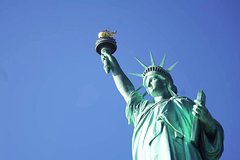 Afternoon Statue of Liberty with Pedestal and Reserve Access: Small Group Tour