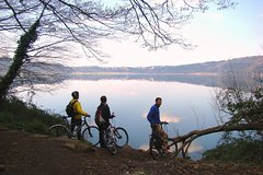 Ancient Appian Way and Castel Gandolfo Lake with Quality Electric-Assist Bikes