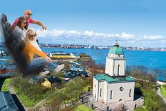 Flying Cinema Tour Of Helsinki Experience, single ticket