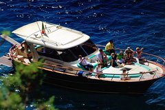 Capri Boat Experience Daily Tour with Limoncello Tasting From Rome