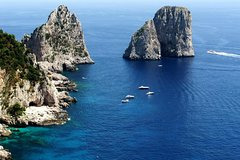 Capri Sea View: Sea and city sightseeing Boat tour from Naples