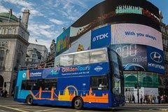 Imagen Billet de bus à arrêts multiples avec promenade en bateau et balade à Londres