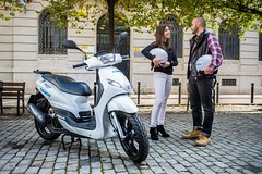 Scooter rental in Milan