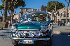 Rome Aperitives Tour in Mini Vintage Cabriolet with Ancient Highlights
