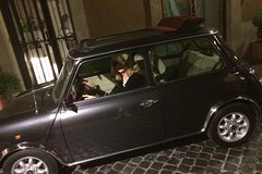 Rome Ancient tour by Night in Mini Vintage Cabriolet with drink