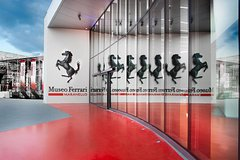 Day trip to the Ferrari Museums from Milan