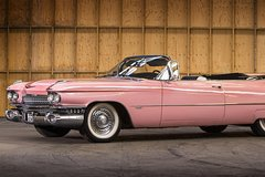 Rent a Car for Wedding: Pink Cadillac El Dorado