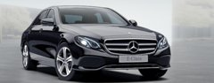 Rent a Car for Wedding: Black Mercedes E Class