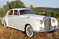 Rent a Car for Wedding: Silver 1953 Bentley