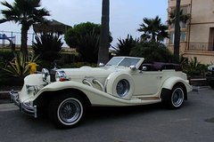 Rent a Car for Wedding: Excalibur Cabrio