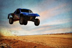 Desert Off-Road Baja Race Truck Experience On A Real Track in Las Vegas