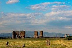Rome Special Combo: Appian Bike Tour plus Colosseum Official Guided Tour