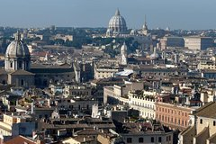 Special Combo tour: Panoramic views of Rome Bike Tour plus Colosseum Official Guided Tour