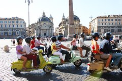 3-Hour Rome Small-Group Sightseeing Tour by Vintage Vespa