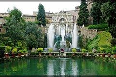 Private Tour from Rome to Tivoli Villa d'Este and Villa Adriana with Hotel Pickup