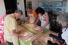 Rome Homemade Pasta Cooking Class and Castle cellars Wine Tasting