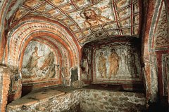 Private Half-Day Rome Tour: Roman Catacombs, Appian Way and Cecilia Metella Mausoleum