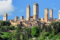 Siena Monteriggioni San Gimignano with Lunch&WineTasting Fullday from R
