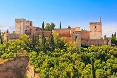 Imagen Excursión combinada de Granada: Recorrido a pie por el Albaicín y el Sacromonte y tren con paradas libres