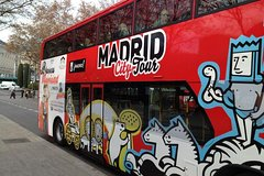 Madrid City Tour Hop-On Hop-Off