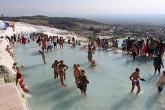 Full-Day Shared Pamukkale Tour From Kusadasi