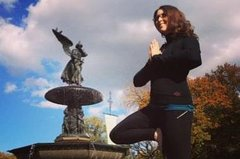 Central Park Sunrise Yoga Walk