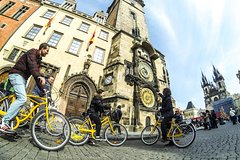 Prague Highlights Bike Tour with Old Town, Vltava River and Wenceslas Square