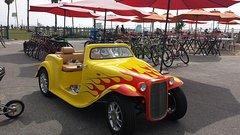 Self-Guided Santa Monica Tour in a California Roadster Rental