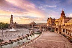 Imagen Exposição Ibero-americana de Sevilha, excursão guiada e cruzeiro fluvial