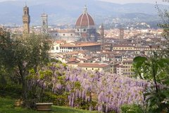 Romantic Michelin-Starred Dinner at Villa Bardini Museum with Views of Florence