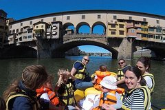 Private Rafting on the Arno River: your unusual and thrilling Florence Visit