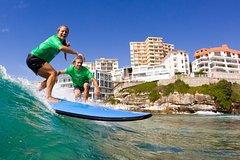 Imagen Surfing Lessons on Sydney's Bondi Beach