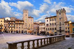 Arezzo and Cortona Private Tuscany Day Trip from Siena