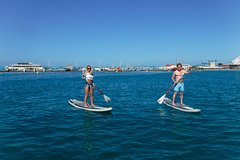 Imagen Stand Up Paddling Course and Seaside Paella Lunch in Valencia