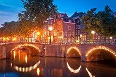 Crucero de cóctel por los canales de Amsterdam