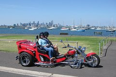 Imagen Trike Tour of Melbourne's West Gate and Williamstown for Two