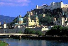 Recorrido de un día en grupo reducido a Salzburgo desde Múnich