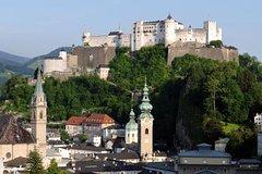 Recorrido de un día de Sonrisas y lágrimas, Salzburgo y la región de los lagos desde Múnich