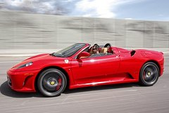 Ferrari Sports Car Passenger Experience from Archerfield